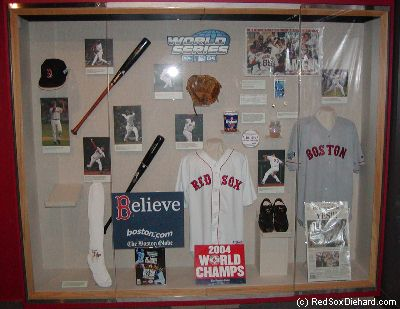 Hall of Fame 2004 display
