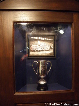 Cup presented to manager Jake Stahl when the Red Sox won the 1912 World Series.