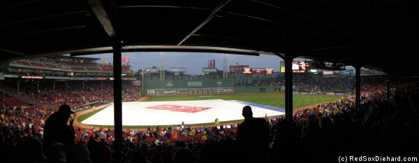 Tarp panorama. For a while I thought this was the only picture I'd have to show.