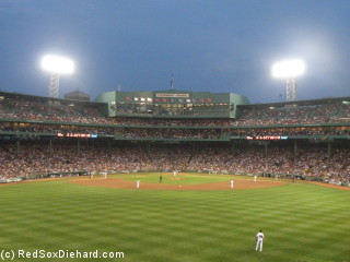 It was a rare rain-free night at Fenway, but it still ended in disappointment.