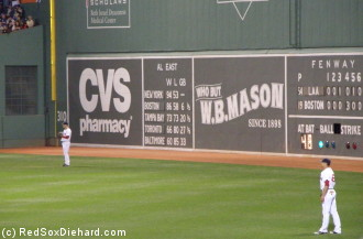 Jason Bay and Jacoby Ellsbury patrol the outfield after they both homered.