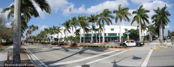 City of Palms Park on the afternoon of the annual college doubleheader.