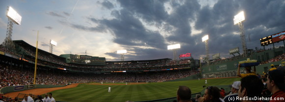 Despite my annoyance with a couple of vocal yokels, it was actually a great night for baseball.