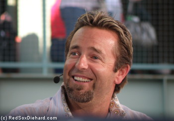 Grab some Jack Daniels and KFC, turn up the rally karaoke machine, and cowboy up! Old friend Kevin Millar is back in town.