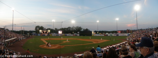 It was a nice night and a well-played game at LeLacheur Park.