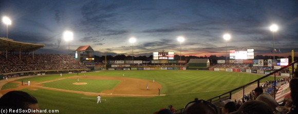 McCoy Stadium panorama.