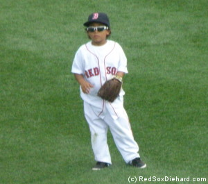 Six-year-old D'Angelo Ortiz is as cool as his Papi.