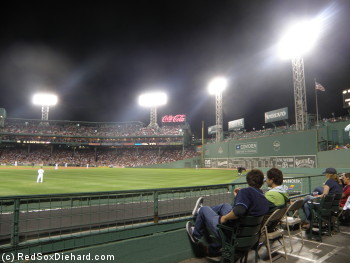 Every day at Fenway Park is a chance to see something you've never seen before.