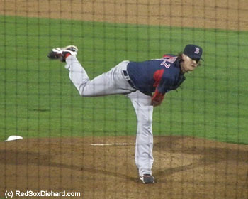 Clay Buchholz had a strong outing.