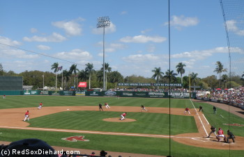 It's another Mayor's Cup battle as the Sox take on the cross-town Twins at City of Palms Park.