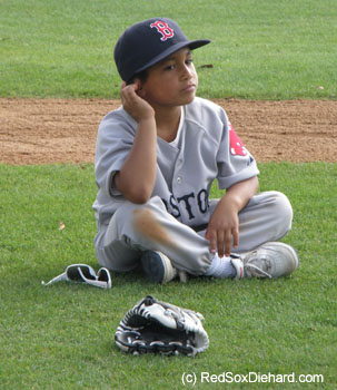D'Angelo Ortiz reflects while watching his father take B.P.
