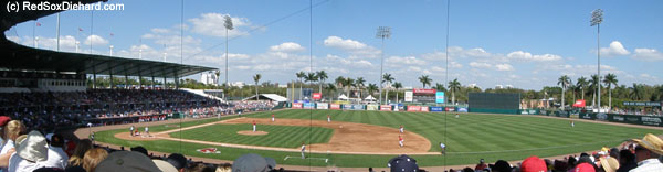 City of Palms Park on a beautiful afternoon.