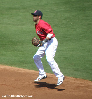 Seeing Dustin Pedroia back in action made me want to jump for joy, too!
