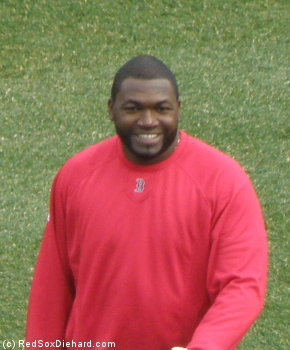 Even with the team off to a 1-7 start, it's impossible not to smile when Big Papi arrives!
