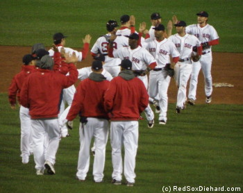 Congratulations to the Red Sox on a dramatic win.