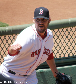 John Lackey pitched well in his return from the D.L.