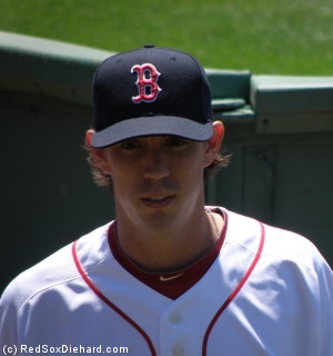 Kyle Weiland enters the bullpen to warm up before his major league debut.