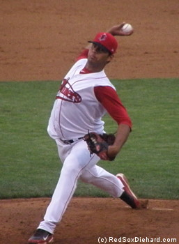 Luis Diaz allowed only one hit and one walk over 6 scoreless innings.