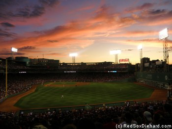 Even from the last row of the upper bleachers, the ballpark can be beautiful.