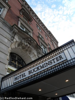 The Hotel Buckminster, where the Black Sox scandal of 1919 was planned.