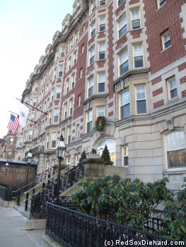 490 Commonwealth Avenue, site of the former Hotel Kenmore.