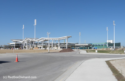 JetBlue Park as seen on 1/3/12, two months before the first games. Click to enlarge.