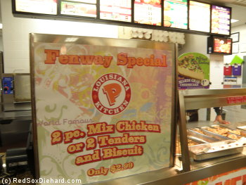 """Fenway Special"" indeed.  Is this what the guys were eating in the clubhouse last September?"