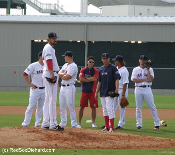 Andrew Miller is really, really tall.