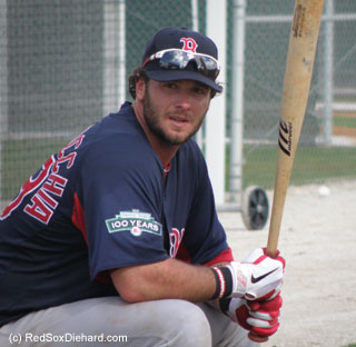 I think it's fitting on the day that Jason Varitek announced his retirement to include a picture of his successor, Jarrod Saltalamacchia, who spent the past year growing into the position under Tek's tutelage.