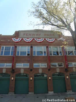 Fenway Park, Opening Day 2012.