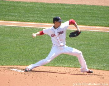 Clay Buchholz had a really good outing, even if he didn't have anything to show for it.