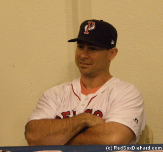 Catcher Dan Butler was a key figure in the PawSox run for the Governor's Cup last fall.