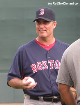 John Farrell brought most of his regulars with him on the road trip.