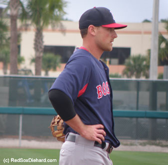 It was a relief to see that Will Middlebrooks had apparently not re-injured the wrist he had broken last season.