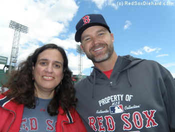 I met David Ross at Onf-Field Photo Day.