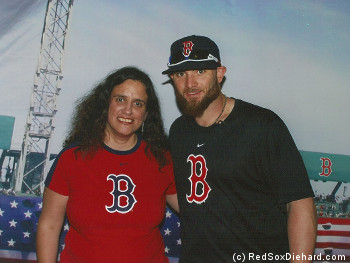 If I had known Jonny Gomes and I were going to be dressed as twins, I would have worn my hat.