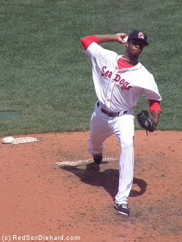 Miguel Celestino pitched a scoreless eighth.
