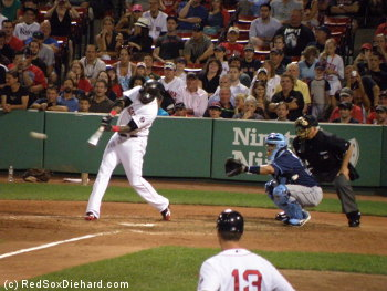 Big Papi lined out to short to end the game.