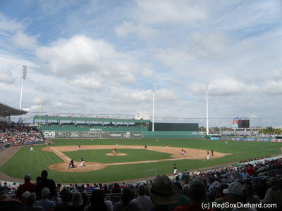JetBlue Park was open for business for the first time in 2014.