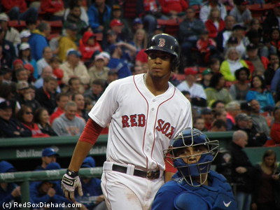 Xander Bogaerts homered in the second inning.