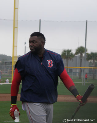 It's always a good day when Big Papi's in the house.