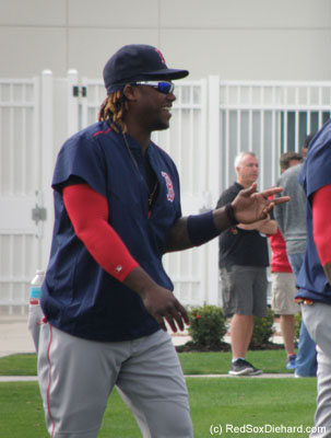 Hanley Ramirez was all smiles.