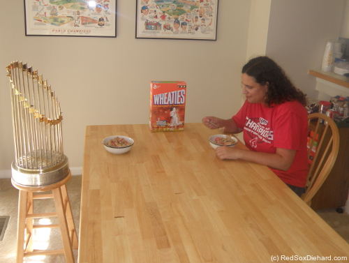 Wheaties - the breackfast of champions - of course!