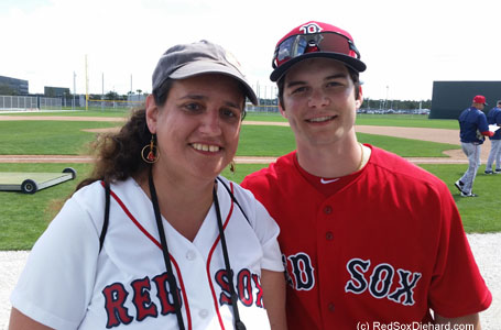 Outfield prospect Andrew Benintendi.