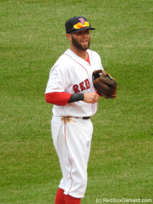 Dustin Pedroia had another great play in the field.