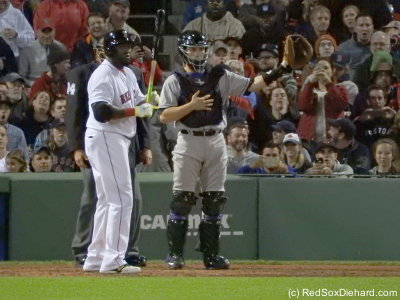 Not pitching to Papi? Boo!