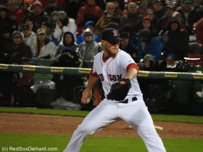 Craig Kimbrel struck out two in a 1-2-3 ninth inning to close it out.