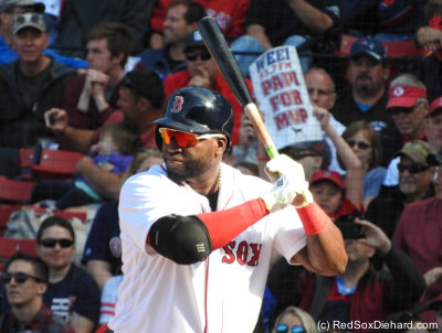 """Papi for MVP"" indeed. That would be such a fitting way for him to retire. (If voting took place right now, his biggest competition would be his own teammates Bradley and Boagerts.)"