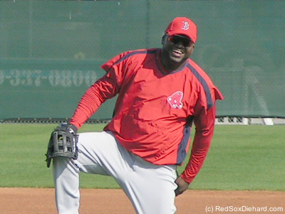 Big Papi in Spring Training 2007