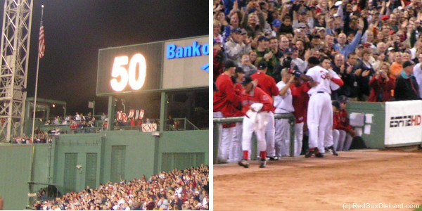 Big Papi broke the Red Sox' franchise home run record in 2006.